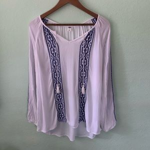 Old Navy High-Low Blouse